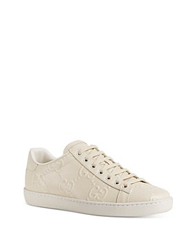 Gucci - Women's GG Embossed Ace Sneakers