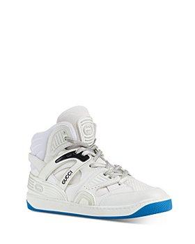 Gucci - Women's Gucci Basket High Top Sneakers