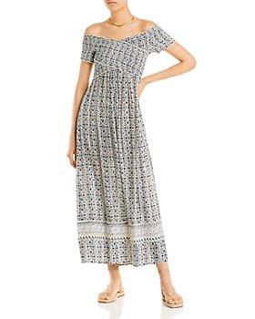 AQUA - Topanga Maxi Dress - 100% Exclusive