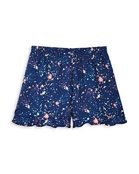 AQUA - Girls' Paint Splatter Shorts, Big Kid - 100% Exclusive