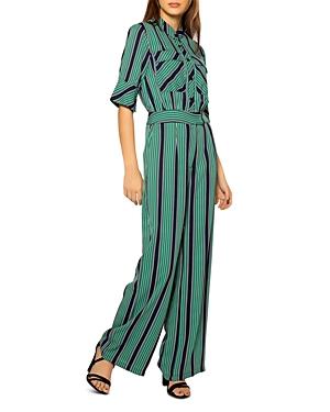 Mock Turtleneck Pencil Stripe Jumpsuit (38% off) Comparable value $113
