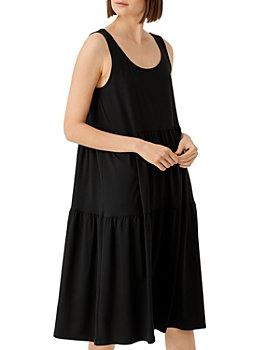 Eileen Fisher - Jersey Tiered Dress