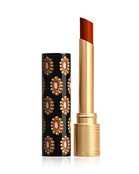 Gucci - Rouge de Beauté Brilliant Shine Glow & Care Lipstick