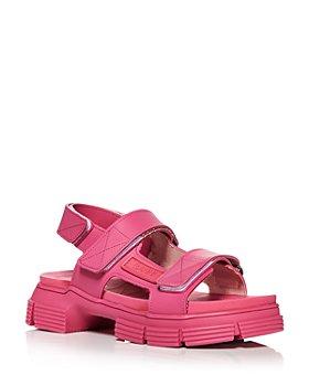 GANNI - Women's Lug Sole Sandals