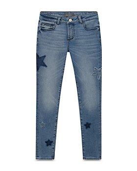 DL1961 - Girls' Chloe Star Patch Skinny Jeans - Big Kid