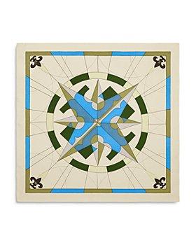 Tory Burch - Compass Silk Twill Neckerchief