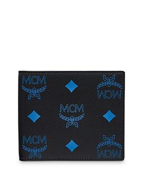MCM - Color Splash Logo Leather Card Case