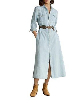 Ralph Lauren - Denim A Line Shirt Dress