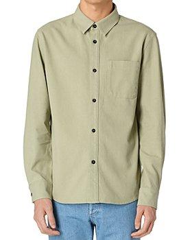 A.P.C. - Trek Straight Fit Button-Down Shirt