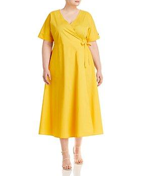 Marina Rinaldi - Dolomiti Wrap Midi Dress