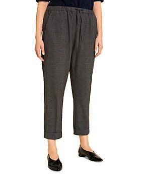 Marina Rinaldi - Raccolta Check-Print Pants