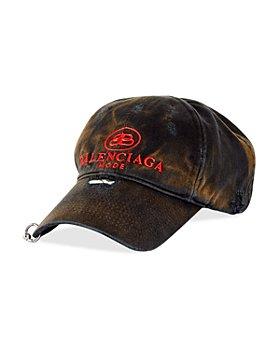 Balenciaga - Destroyed Logo Baseball Cap