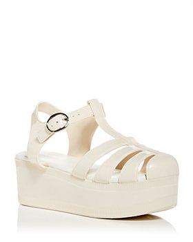 Jeffrey Campbell - Women's Candied Platform Jelly Sandals