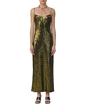 Galvan - Savannah Sweetheart Sequined Gown