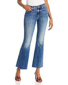MOTHER - The Weekender Flared Jeans in in Walking On Coals