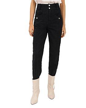 Derek Lam 10 Crosby - Alexa High Waist Jeans in Black
