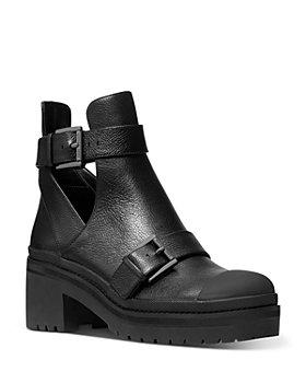 MICHAEL Michael Kors - Women's Corey Leather Cutout Booties