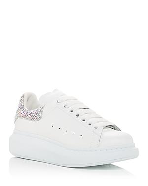 Alexander McQUEEN Women's Oversized Crystal Embellished Heel Sneakers