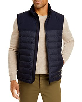 Z Zegna - Quilted Full Zip Puffer Vest