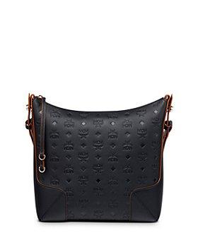 MCM - Klara Medium Monogram Leather Hobo Bag