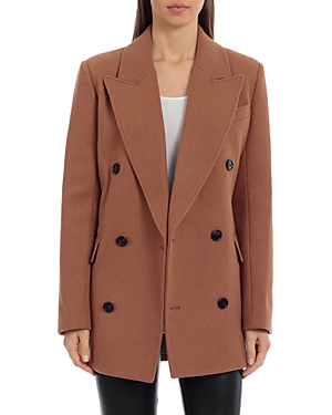 Structured Short Double Breasted Coat