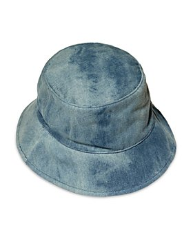 Lele Sadoughi - Denim Bucket Hat