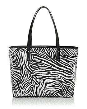 MICHAEL Michael Kors - Large Zebra Stripe Open Tote