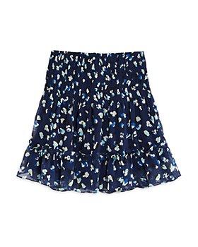 AQUA - Girls' Speckled Smocked Skirt, Big Kid - 100% Exclusive
