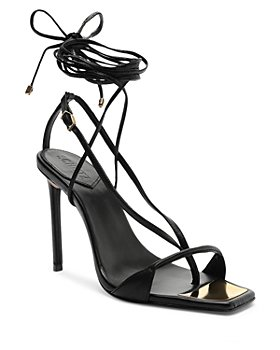SCHUTZ - Vikki Ankle Tie High Heel Sandals