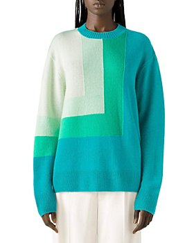 St. John - Intarsia Cashmere Sweater