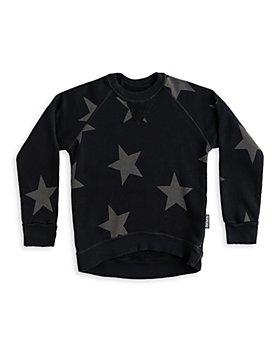 NUNUNU - Boys' Star Sweatshirt - Little Kid, Big Kid