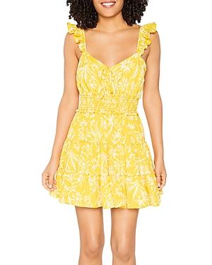 Raya Daisy Print Dress