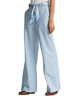 Ralph Lauren - Wide Leg Cotton Pants