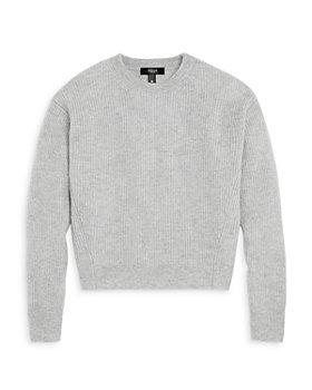 AQUA - Girls' Solid Cashmere Sweater, Big Kid - 100% Exclusive