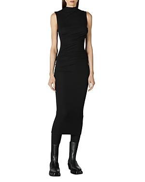 Ribbed Sleeveless Midi Dress