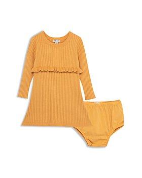 Habitual Kids - Girls' Long Sleeve Ruffle Knit Dress & Bloomer Set - Baby