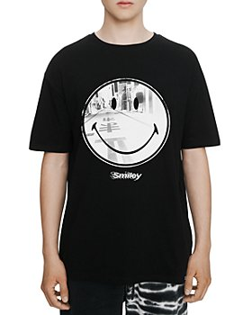 Eleven Paris - Street Smiley Face Graphic Tee