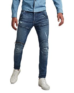 Zip Knee Skinny Jeans
