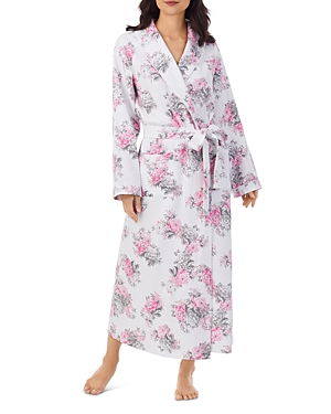 Quilted Long Robe