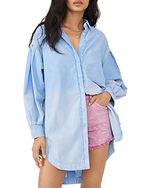 Cool & Clean Oversized Shirt