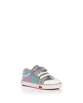 See Kai Run - Girls' Kristin Rainbow Shimmer Low Top Sneakers - Walker, Toddler, Little Kid