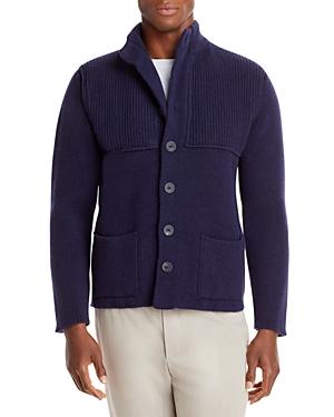 Wool Knit Sweater Jacket