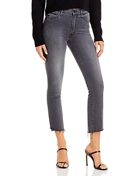 MOTHER - Insider Crop Step Fray Jeans in Dancing In The Moonlight