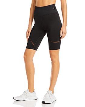 PUMA - Exhale Mesh Curve Biker Shorts