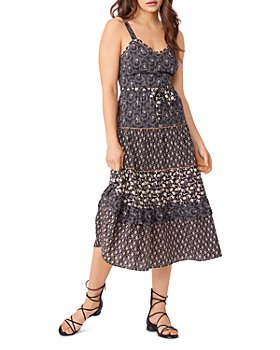 PAIGE - Masala Floral Midi Dress