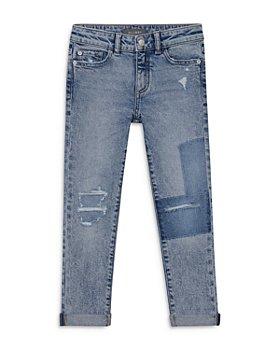 DL1961 - Girls' Harper Boyfriend Jeans in Seaglass - Big Kid
