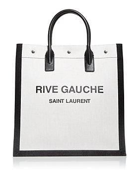 Saint Laurent - Logo Canvas Tote