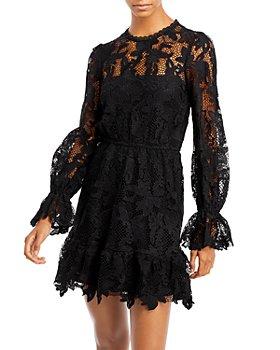 AQUA - Lace Mini Dress - 100% Exclusive