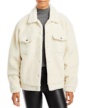 Anine Bing - Rory Faux Fur Jacket