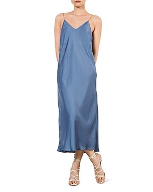 ba & sh Chiara Midi Slip Dress